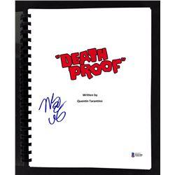 "Mary Elizabeth Winstead Signed ""Death Proof"" Movie Script (Beckett COA)"