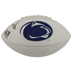 Mike Gesicki Signed Penn State Nittany Lions Logo Football (Beckett COA)