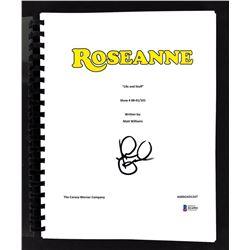 "John Goodman Signed ""Roseanne: Life and Stuff"" Episode Script (Beckett COA)"