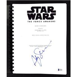 "Andy Serkis Signed ""Star Wars: The Force Awakens"" Movie Script (Beckett COA)"