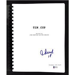 "Cheech Marin Signed ""Tin Cup"" Movie Script Inscribed ""17"" (Beckett COA)"