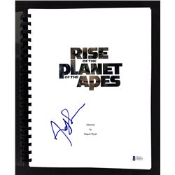 "Andy Serkis Signed ""Rise of the Planet of the Apes"" Movie Script (Beckett COA)"