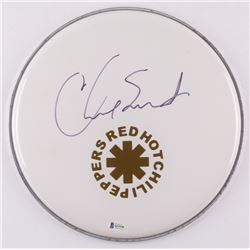 Chad Smith Signed Red Hot Chili Peppers Drumhead (Beckett COA)