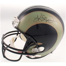 Kurt Warner Signed Rams Full-Size Helmet (JSA Hologram)
