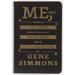 "Gene Simmons Signed ""Me, Inc."" Softcover Book (PSA COA)"
