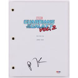 "Pom Klementieff Signed ""Guardians of the Galaxy Vol. 2"" Movie Script (PSA COA)"