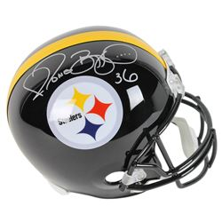Jerome Bettis Signed Pittsburgh Steelers Full-Size Helmet (Beckett COA)