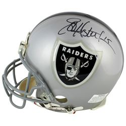 Jeff Hostetler  Daryle Lamonica Signed Oakland Raiders Full-Size Authentic On-Field Helmet (Beckett