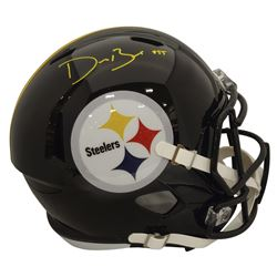 Devin Bush Jr. Signed Pittsburgh Steelers Full-Size Speed Helmet (Beckett COA)