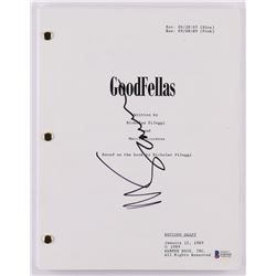 "Martin Scorsese Signed ""Goodfellas"" Movie Script (Beckett COA)"