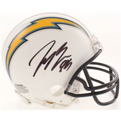Joey Bosa Signed Los Angeles Chargers Mini Helmet (Beckett COA)