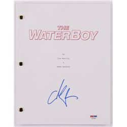 "Adam Sandler Signed ""The Waterboy"" Movie Script (PSA COA)"
