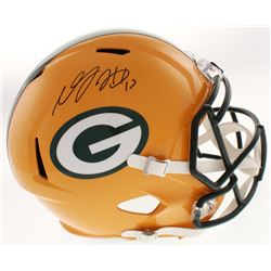 Davante Adams Signed Green Bay Packers Full-Size Speed Helmet (JSA COA)