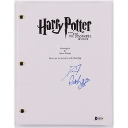 "Daniel Radcliffe Signed ""Harry Potter and the Philosopher's Stone"" Movie Script (Beckett COA)"