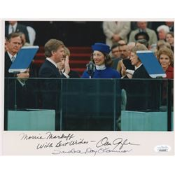 "Dan Quayle  Sandra Day O'Connor Signed 8x10 Photo Inscribed ""With Best Wishes"" (JSA COA)"