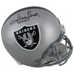 Howie Long Signed Oakland Raiders Full-Size Helmet (Beckett COA)