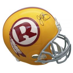 John Riggins Signed Washington Redskins Throwback Full-Size Helmet (Beckett COA)