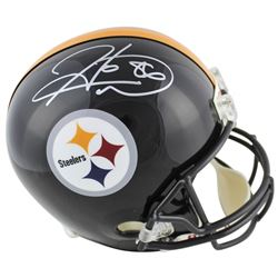 Hines Ward Signed Pittsburgh Steelers Full-Size Helmet (Beckett COA)