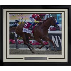 Mike Smith Signed 22x27 Custom Framed Photo Display (Sports Integrity COA)