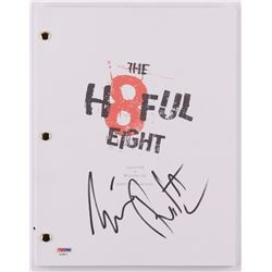 "Tim Roth Signed ""The Hateful Eight"" Movie Script (PSA COA)"