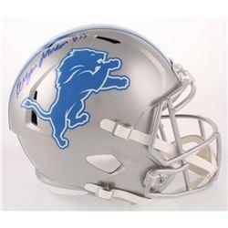 Kerryon Johnson Signed Detroit Lions Full-Size Speed Helmet (Radtke COA)