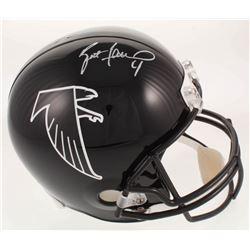Brett Favre Signed Atlanta Falcons Full-Size Helmet (Radtke COA)