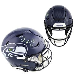 D.K. Metcalf Signed Seattle Seahawks Full-Size Authentic On-Field SpeedFlex Helmet (Radtke COA)