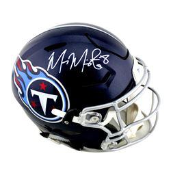 Marcus Mariota Signed Tennessee Titans Full-Size Authentic On-Field SpeedFlex Helmet (Radtke COA)