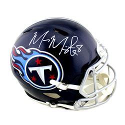 Marcus Mariota Signed Tennessee Titans Full-Size Authentic On-Field Speed Helmet (Radtke COA)