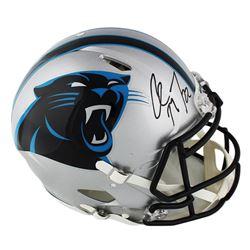 Christian McCaffrey Signed Carolina Panthers Full-Size Authentic On-Field Speed Helmet (Radtke COA)