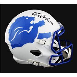 Barry Sanders Signed Detroit Lions Full-Size Speed AMP Helmet (Radtke COA)