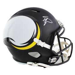 Stefon Diggs Signed Minnesota Vikings Full-Size Speed AMP Helmet (Radtke COA)