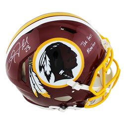 """DeAngelo Hall Signed Washington Redskins Full-Size Authentic On-Field Speed Helmet Inscribed """"The Ha"""