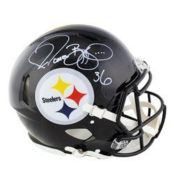 Jerome Bettis Signed Pittsburgh Steelers Full-Size Authentic On-Field Speed Helmet (Radtke COA)