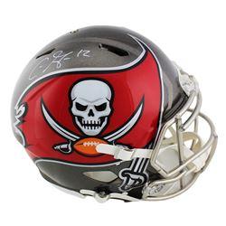 Chris Godwin Signed Tampa Bay Buccaneers Full-Size Authentic On-Field Speed Helmet (Radtke COA)