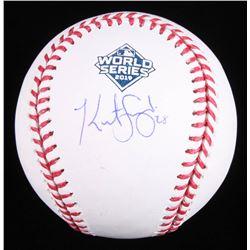 Kurt Suzuki Signed 2019 World Series Baseball (Beckett COA)