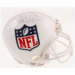 Kurt Warner Signed NFL Logo Mini Helmet (JSA COA)