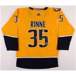 Pekka Rinne Signed Nashville Predators Jersey (JSA COA)