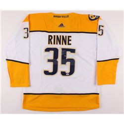 Pekka Rinne Signed Nashville Predators Jersey (PSA COA)
