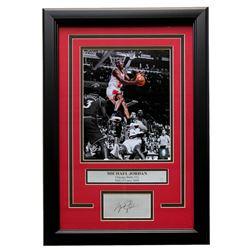 Michael Jordan Chicago Bulls 11x14 Custom Framed Photo Display