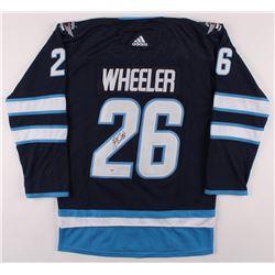 Blake Wheeler Signed Winnipeg Jets Captain Jersey (PSA COA)