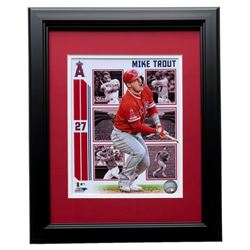 Mike Trout Los Angeles Angels 11x14 Custom Framed Photo Display