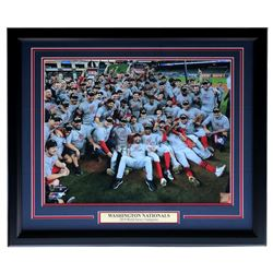 "Washington Nationals ""2019 World Series Champions"" 22x27 Custom Framed Photo Display"