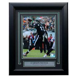 Carson Wentz Eagles 11x14 Custom Framed Photo Display