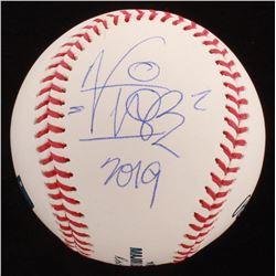"Vanilla Ice Signed OML Baseball Inscribed ""2019"" (JSA COA)"