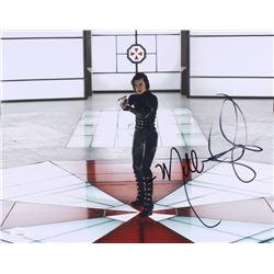 "Milla Jovovich Signed ""Resident Evil"" 11x14 Photo (JSA COA)"