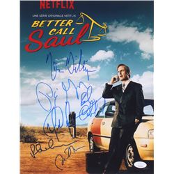 """""""Better Call Saul"""" 11x14 Photo Signed by (6) with Peter Gould, Bob Odenkirk, Vince Gilligan, Rhea Se"""