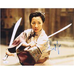 "Michelle Yeoh Signed ""Crouching Tiger, Hidden Dragon"" 11x14 Photo (JSA COA)"