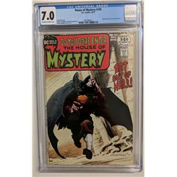 """1971 """"House of Mystery"""" Issue #195 DC Comic Book (CGC 7.0)"""