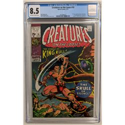"""1971 """"Creatures on the Loose"""" Issue #10 Marvel Comic Book (CGC 8.5)"""